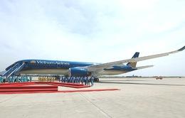 Vietnam Airlines tiếp nhận máy bay Airbus A350