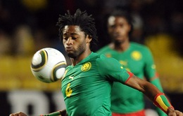 Alex Song từ giã tuyển Cameroon trước thềm CAN 2015