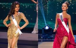 Váy dạ hội quyến rũ của thí sinh Hoa hậu Hoàn vũ
