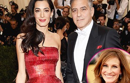 Julia Roberts ấn tượng với vợ của George Clooney