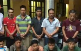 Công an TP Hà Nội trao trả 12 xe máy cho người bị hại