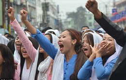 Ấn Độ: Áp dụng lệnh giới nghiêm sau vụ nghi phạm hiếp dâm bị giết
