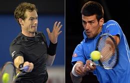 Djokovic – Murray: Kỷ lục chờ đợi Nole (15h30, FOX Sports)