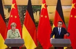 Thủ tướng Đức thăm Trung Quốc