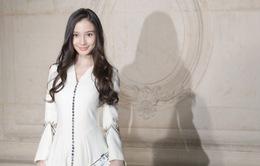 Angelababy duyên dáng ở kinh đô thời trang Paris