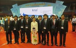 Việt Nam giành 2 huy chương Vàng Olympic Vật lý châu Á