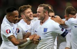 Vương quốc Anh thi đấu xuất sắc ở vòng loại Euro 2016
