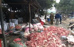 Hà Nội: Bắt quả tang cơ sở sản xuất mỡ bẩn lớn tại Đan Phượng