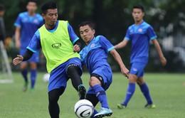 ĐT Thái Lan tập luyện ngay sau khi đến Hà Nội