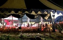 Hải Dương: Hơn chục người bị thương do sập hàng ghế tại rạp xiếc