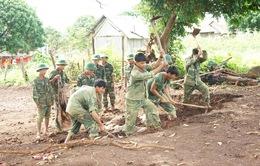 Những người lính của buôn làng Tây Nguyên