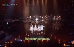 Đồ Rê Mí 2015: Diệp Nhi khóc trên sân khấu vì nhớ ba