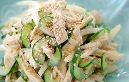 Salad gà chua ngọt Hàn Quốc
