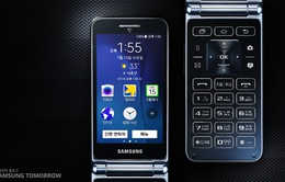 Samsung nối gót LG ra mắt smartphone nắp gập chạy Android