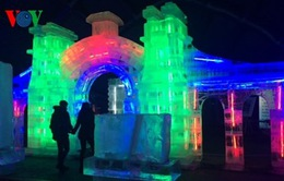 Kỳ ảo lễ hội băng đăng Cáp Nhĩ Tân tại Bắc Kinh