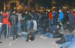 Cận cảnh diễn tập xử lý tình huống giẫm đạp tại Hà Nội