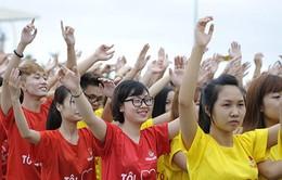 """12.000 thanh niên Hà Nội tham gia chương trình """"Tôi yêu Tổ quốc tôi"""""""