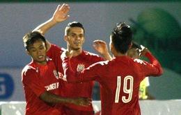 BTV Cup 2015: Chủ nhà Bình Dương may mắn vào bán kết nhờ bốc thăm
