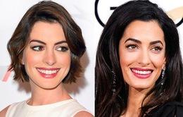 Anna Hathaway ngưỡng mộ vợ của George Clooney