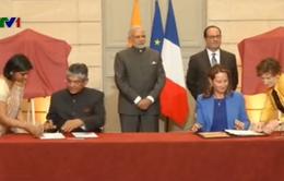 Pháp bán 36 máy bay chiến đấu Rafale cho Ấn Độ