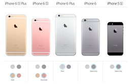Apple khai tử phiên bản Gold của iPhone 5S, iPhone 6 và iPhone 6 Plus