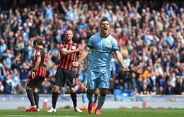 Man City 6-0 QPR: Bảo vệ ngôi Á quân