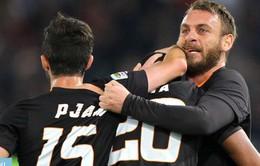 """AS Roma 2-1 Empoli: Bầy sói """"lết"""" vào  tứ kết Coppa Italia"""