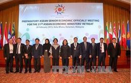 Kết thúc Hội nghị hẹp Bộ trưởng Kinh tế ASEAN