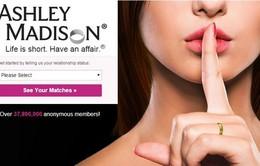 Tin tặc tấn công trang web hẹn hò Ashley Madison