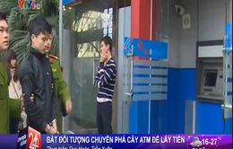Hà Nội: Đối tượng chuyên phá cây ATM cướp tiền sa lưới