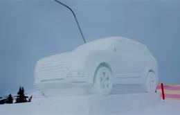Ấn tượng Audi Q7 phiên bản băng tuyết