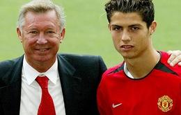 C.Ronaldo: Sir Alex nói tôi là người giỏi nhất