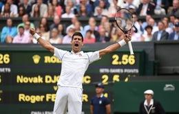 Vượt ải Federer, Djokovic lần thứ 3 đoạt ngôi vương tại Wimbledon