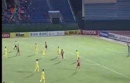 B.Bình Dương chia tayAFC Champions Leaguebằng trận thắng danh dự
