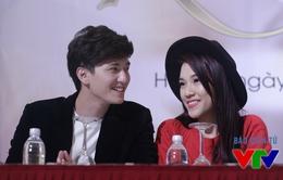 Cặp đôi Huỳnh Anh - Hoàng Oanh hâm nóng tình yêu nhờ Khúc hát mặt trời