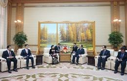 Đoàn Đại biểu Đảng Cộng sản Việt Nam thăm Triều Tiên