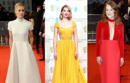 10 bộ váy tinh tế nhất trên thảm đỏ BAFTA 2015