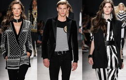 H&M và Balmain đưa gam màu đen cá tính vào BST mới