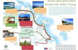 Công bố bản đồ sản phẩm du lịch 3 tỉnh miền Trung
