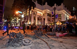 Video kinh hoàng vụ nổ bom tại Bangkok