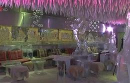Độc đáo quán cà phê bằng băng ở Saudi Arabia