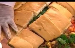 Mexico xác lập kỷ lục Chiếc sandwich lớn nhất Nam Mỹ