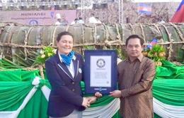 Campuchia lập 2 kỷ lục Guinness