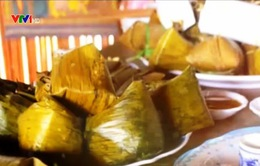 Bánh vắt vai - món ăn ngày Tết của đồng bào Cao Lan