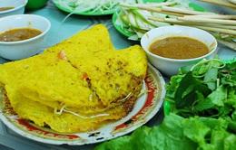 Bánh xèo nhân ốc gạo - Đặc sản chợ Lách, Bến Tre