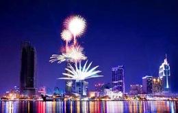 Tưng bừng pháo hoa kỷ niệm 40 năm ngày thống nhất đất nước