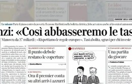 Italy công bố kế hoạch ngân sách dự kiến 2016