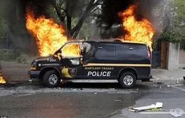 Bạo loạn tại thành phố Baltimore, Mỹ ban bố tình trạng khẩn cấp