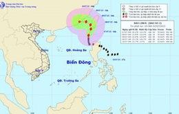 Bão số 2 gây gió giật cấp 12 ở Biển Đông