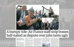 Mâu thuẫn người lao động và giới chủ – Tâm điểm báo chí châu Âu